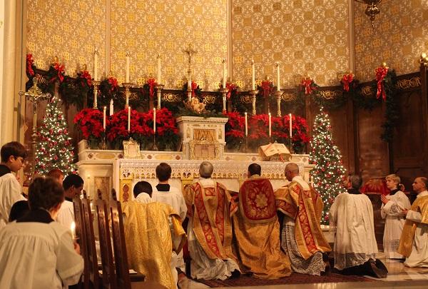 midnight mass in spain.
