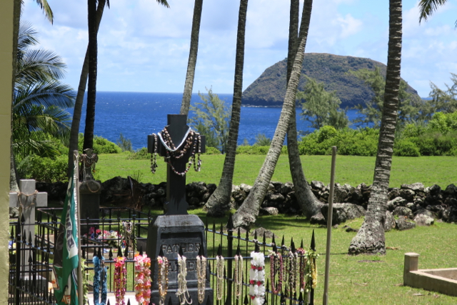 Tomb of St. Damien, Molokai