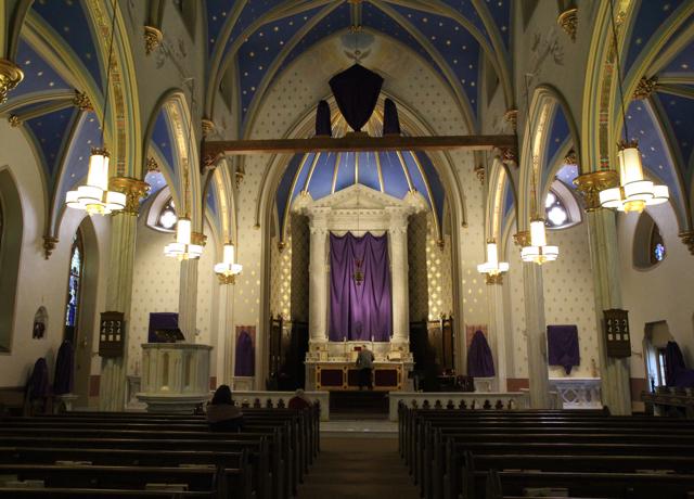 St. Mary Passion Sunday