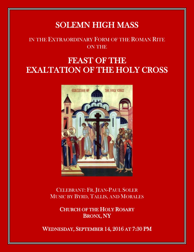 2016 Exaltation Holy Cross_Poster