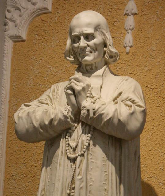 St. John Vianney statue 008