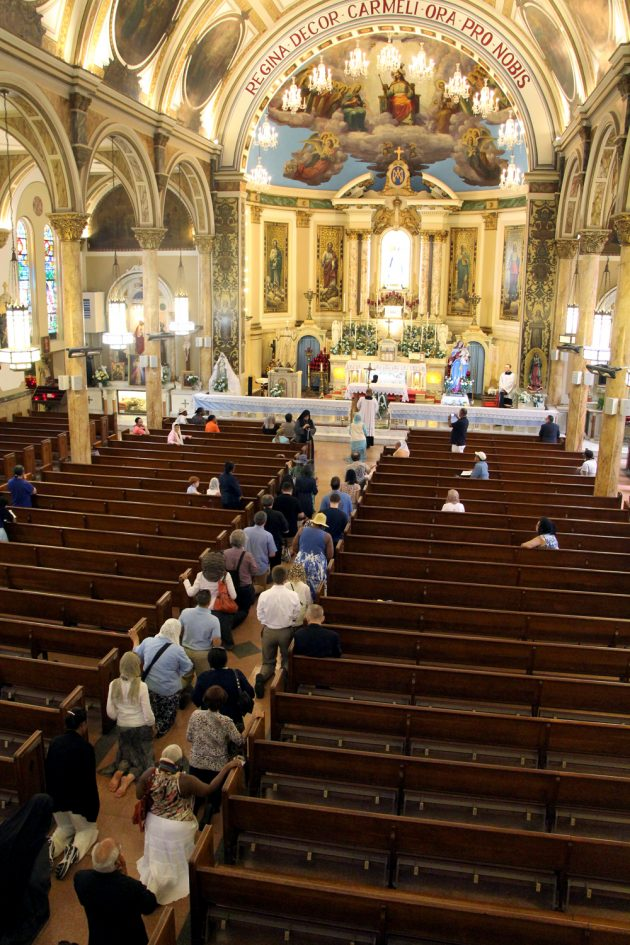 2017-07-22 Feast of Our Lady of Mount Carmel pilgrimage 02